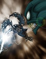 LoK - Raz onthe charge colors by What-the-Gaff