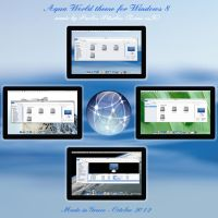Aqua World os x style Theme for Windows 8 rtm by ZEUSosX