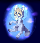 Space Pup - Speed Art by BunnyBoots