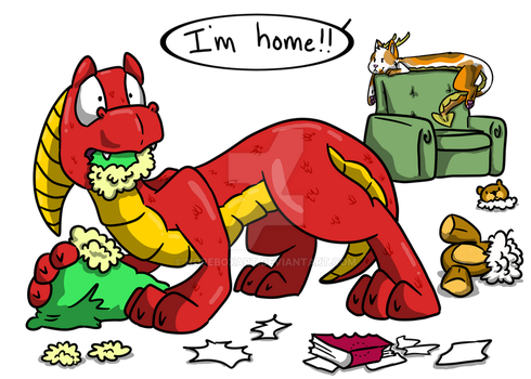 I'm Home... by NopeBoxArt