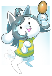 Temmie by norithecat