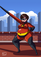 No More Skinny Girls 2 - Ep3 - Mrs. Incredible by Axel-Rosered