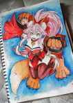 Ink Station: Tamamo Cat by Hikarisoul2