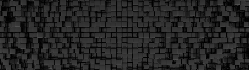 Dualscreen C4D Abstract box wallpaper by xCustomGraphix