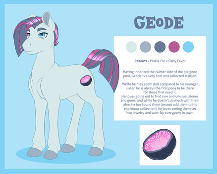 Ref - Geode by PeridotKitty