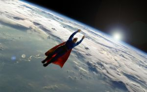 Mountain Lion Earth Horizon Superman by Xionice