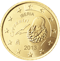 Iberian coin 50 cent by hosmich