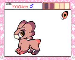 Malvin (second MYO) by Perma-Fox