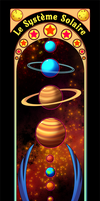 The Solar System bookmark by Willow-San
