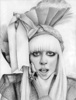 Lady Gaga by LineLR