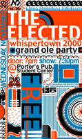 The Elected concert poster by chapolito