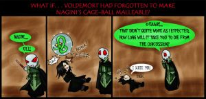 Snakeball Fun 'HP7 spoiler' by kyetxian