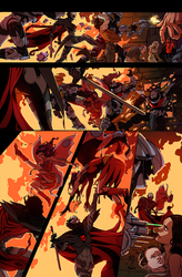 Masters of the Universe 8 She Ra pg 2 colors by kathrynlayno