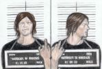 Mugshot of Norman Reedus by gagambo