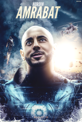 Nordin Amrabat Captain Morocco Poster by workoutf