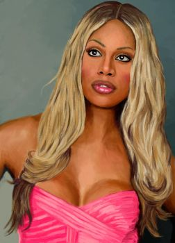 Laverne Cox by itsrainbowman