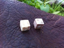 antler dice by tantalus77
