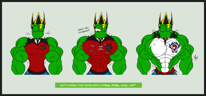 Comic - Yetshi's Ripping Show - Part 4 by McTaylis