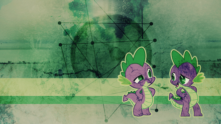 Wallpaper: Spike by MadBlackie