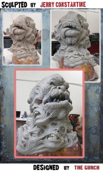 Horror MASK - Work in progress No2 by TheGurch
