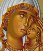 Virgin Mary by teopa