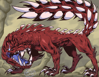 MHW Odogaron by Dezfezable