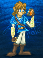 Link / The Legend of Zelda: Breath of the Wild by Chalecus