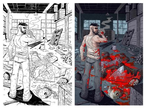 HELL TO PAY pag#01 (PROCESS) by CarlosMorenoD-Art