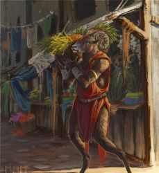 Market Day by Heyriel