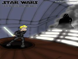 Luke and Vader confrontation by Dremin