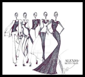 For Betty Tran's SS13 Collection by AlexioLex