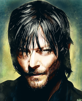 The Walking Dead - Daryl Dixon by p1xer