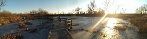 Winter Lake Panoramic by LiLmEgZ97