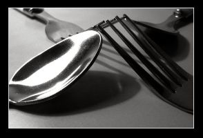 Spoons and Forks by siostra-rana