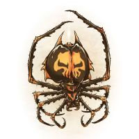 Drawlloween 2015 - Day 30 - Spider by scumbugg