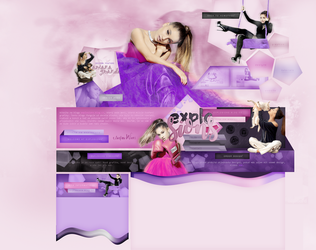 EXPLOSIONS DESIGN #003 | FEATURE ARIANA GRAMDE by weniexplosions