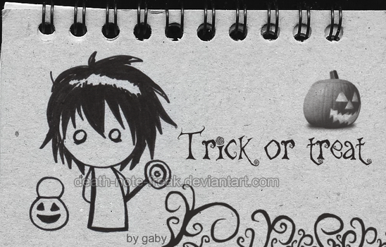 L's Trick or treat by Death-Note-Freak