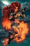 Ghostbusters: Starfire Clrs by CdubbArt