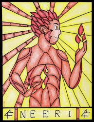 Stained glass: Neeri by Neruall