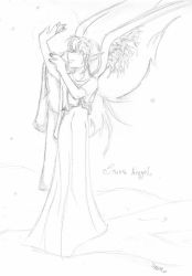Snow Angel by eightofhearts