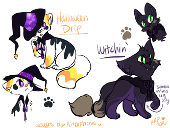 Halloween Adopts *CLOSED by Kitzophrenic