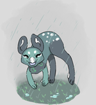 Petrichor in the rain by RascalWabbit