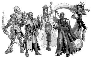 First Age Solars by MelUran