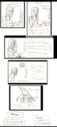 Comic -  the eternal RP struggle by Absolute-Sero