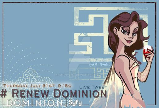 Dominion: Arika Banner by AM-Nyeht