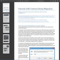 Tutorial: Daz Content Library Migration by deslea