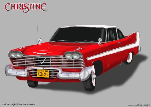 Christine 2.0 by rockin-knight