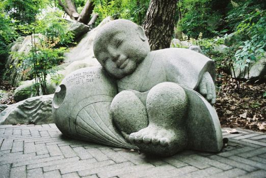 little buddha by chasing-sandcastles