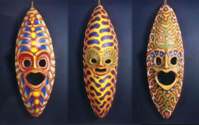 three masks by morpho2012