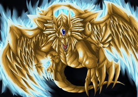 Collab: Winged Dragon of Ra by LightEndDragon
